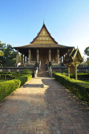 Haw Pha Kaew, Vientiane, Laos Stock Photo - 17475178