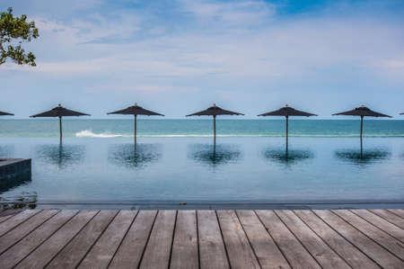Swimming pool in Hua Hin Thailand