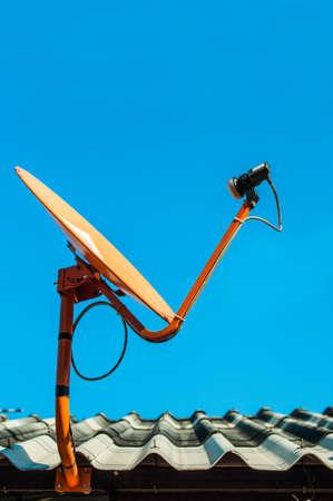 Satellite receiver Stock Photo