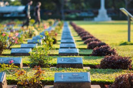 headstones: War cemetery