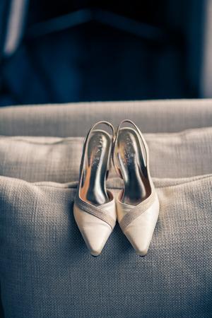Bridal shoes 版權商用圖片