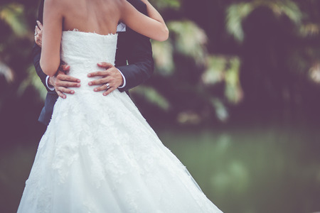 a frill: wedding dress and wedding gown