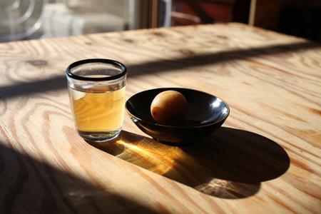 Umeshu japonés ciruela vino