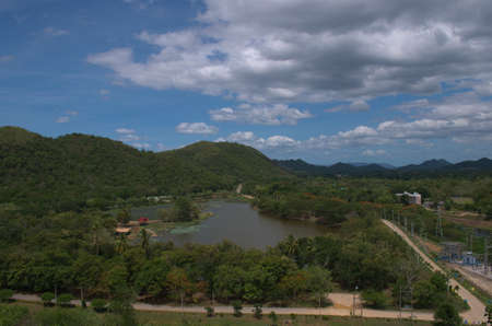 kaeng: View of Kaeng Krachan Stock Photo