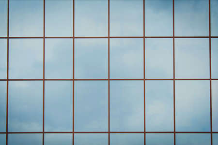 Windows of modern office building photo