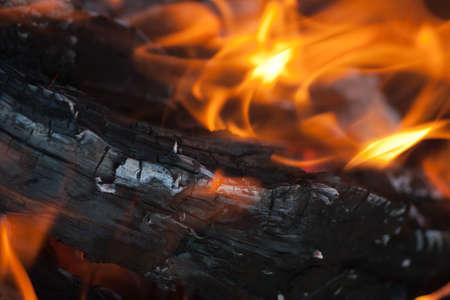stoking: Burning Logs