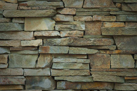 colorfull stone wall pattern natural surface background photo