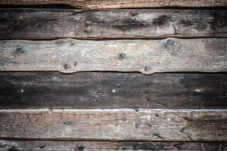 Old wooden planks with metal nails background. Tree texture. Stock Photo - 20613809