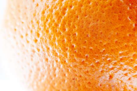 밝은 오렌지 껍질의 근접 촬영의 질감입니다. 매크로 사진 스톡 콘텐츠 - 40971421