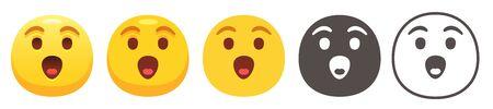 Astonished emoji