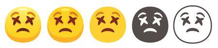 Dizzy emoji 写真素材 - 149553401