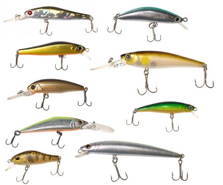 wobler: isolated fishing baits