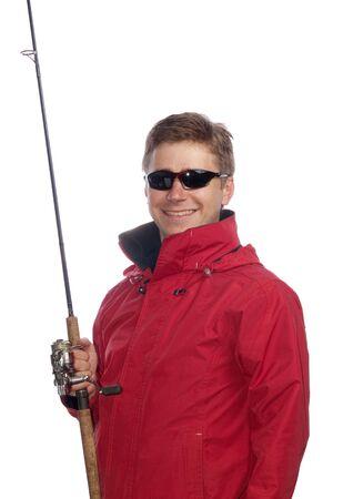 isolated fisherman photo