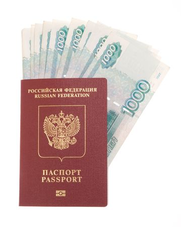 Russian money and russian foreign passport