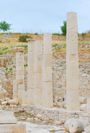 Amatus ruins on a spring day Stock Photo