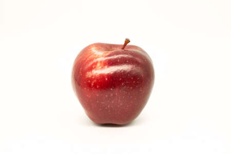 red apple on white background Фото со стока