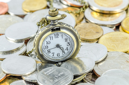 Time spent on making money (Time is Money) photo