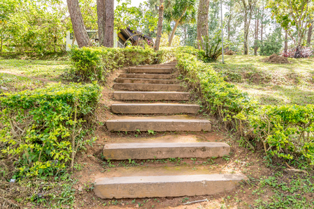 stair: Ground or clay stair