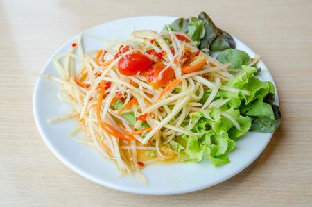 tam: Som Tam - Thai Green Papaya Salad