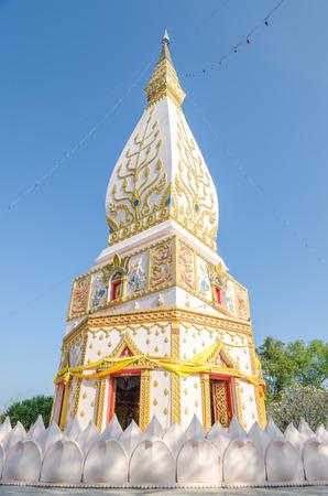 northeast: Stupa in Loei, Northeast of Thailand Stock Photo