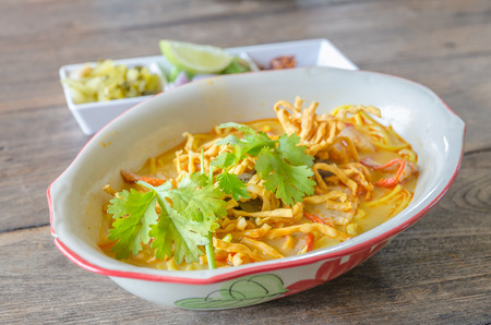 soi: Khao Soi Recipe, Thai Northern Style Curried Noodle Soup with Chicken