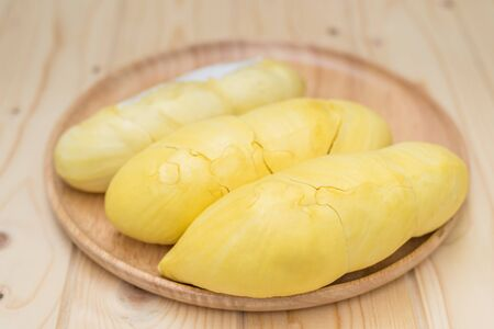 Durian, King of fruit in Thailand Stock Photo