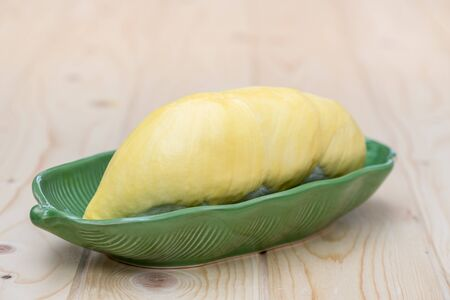 asian flavors: Durian, King of fruit in Thailand Stock Photo