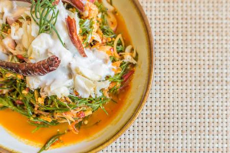 Thai Samphire and Crab Meat Salad