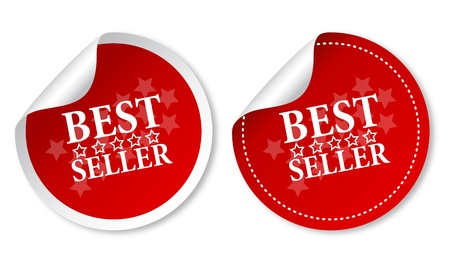 price: Best seller stickers Illustration