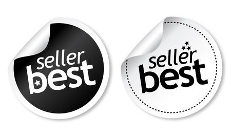 Best seller stickers Stock Vector - 11218513