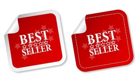 Best seller stickers Stock Vector - 11218550