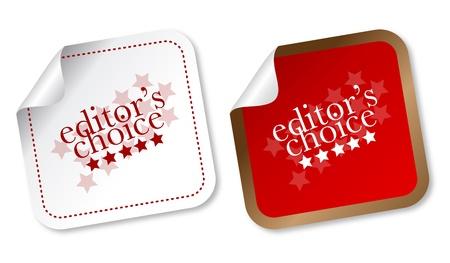 recommendation: Editors choice sticker