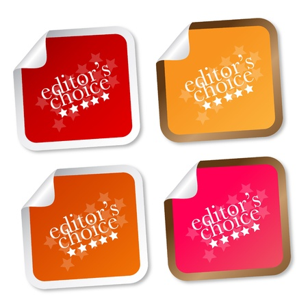 recommendation: Editors choice stickers Illustration