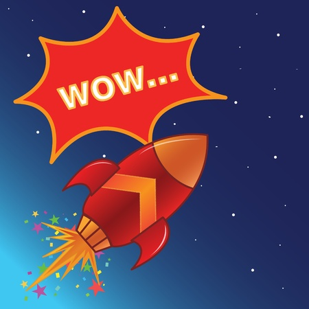 j�piter: El cohete de volar en el espacio