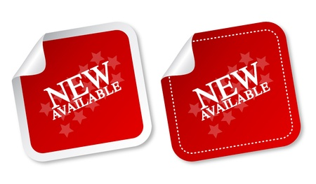 available time: New available stickers