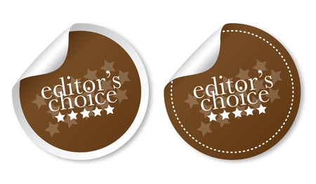 Editors choice sticker Vector