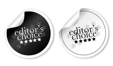 Editors choice sticker