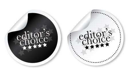 Editors choice sticker