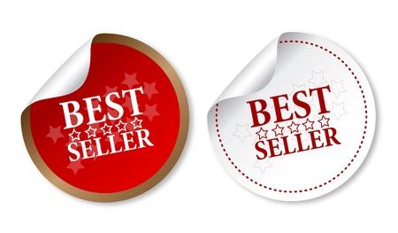 Best seller stickers Illustration