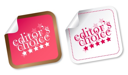 editors: Editors choice sticker