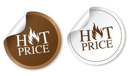 hot price: Hot price stickers