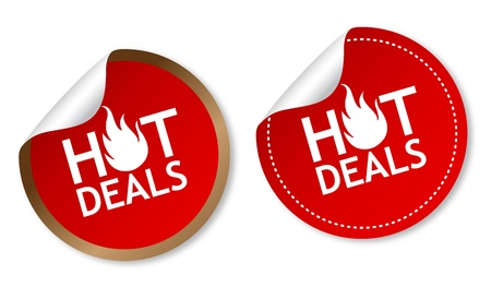 hot price: Hot deals stickers