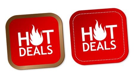 Hot deals stickers