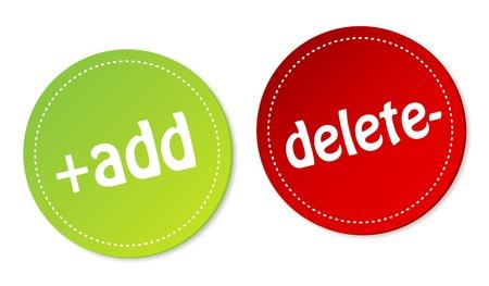 delete: Add and Delete stickers