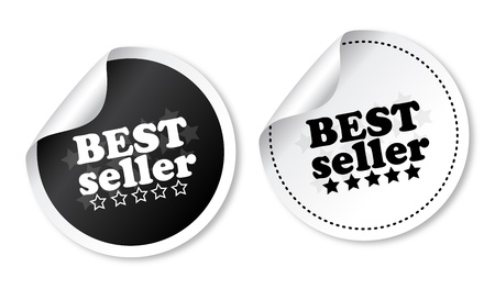 Best seller stickers Illustration