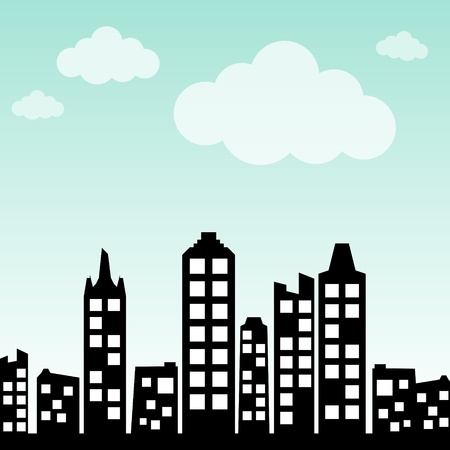 Cityscape background Stock Vector - 13477748