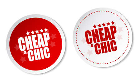 cheap: Cheap   Chic stickers