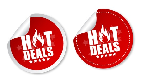 hot sale: Hot deals stickers
