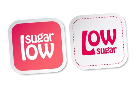 food package: Low sugar stickers