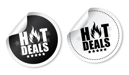 special: Hot deals stickers